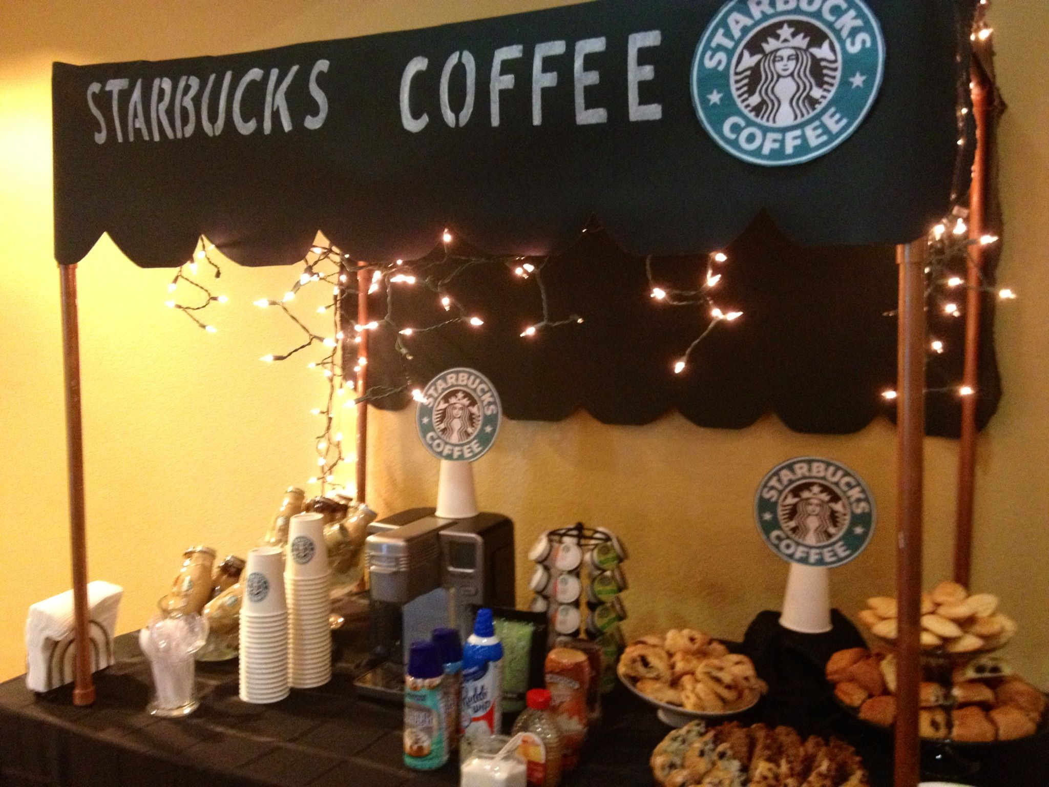 Coffee Bar Ideas For Party The 25 43 Best Starbucks Birthday Party Ideas On Pinterest