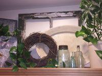 Kitchen Cabinet Decorating | Vintage farmhouse decor ...