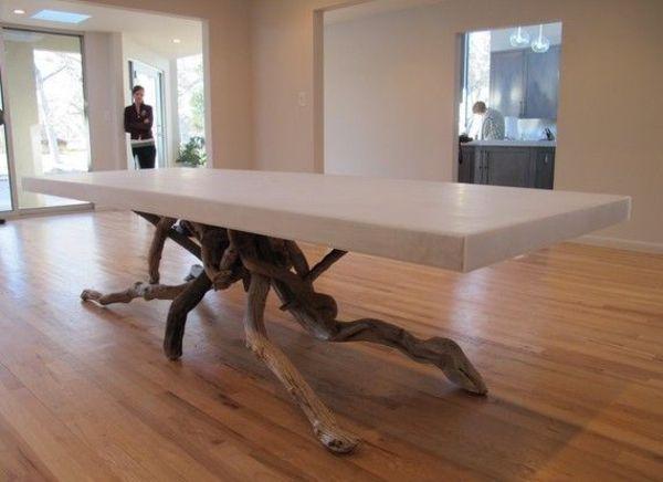 Treibholz Tisch Couchtisch Bauen Pvc HOUSE Pinterest   Treibholz Tisch