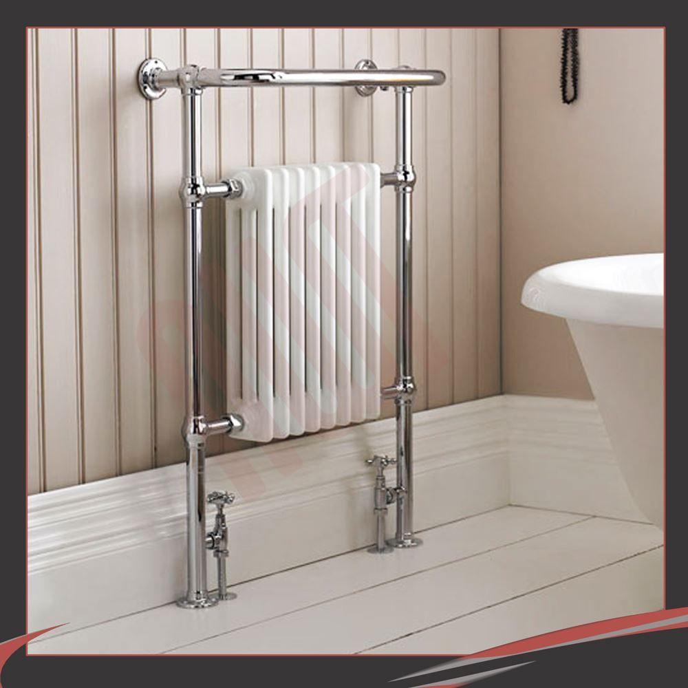 Huge designer heated towel rails warmers bathroom radiators