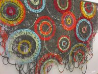 Wall hanging by May Bente Aronsen abstract contemporary ...