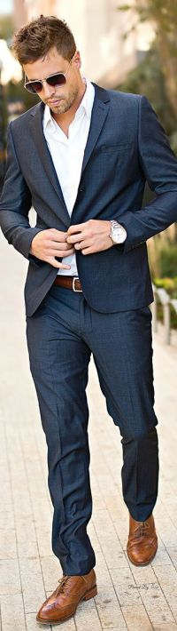 I often wear suits without a tie - work or out on the town ...