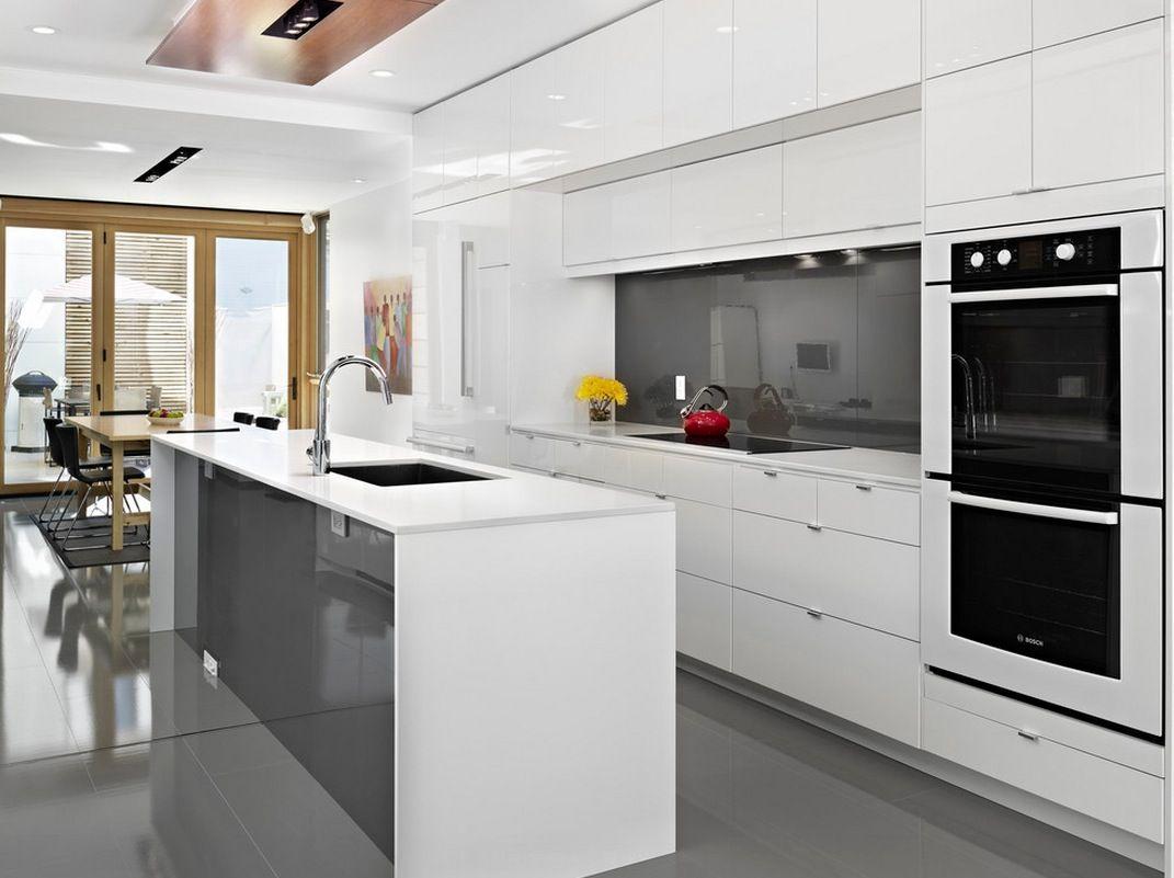 modern kitchen ideas 30 Contemporary White Kitchens Ideas