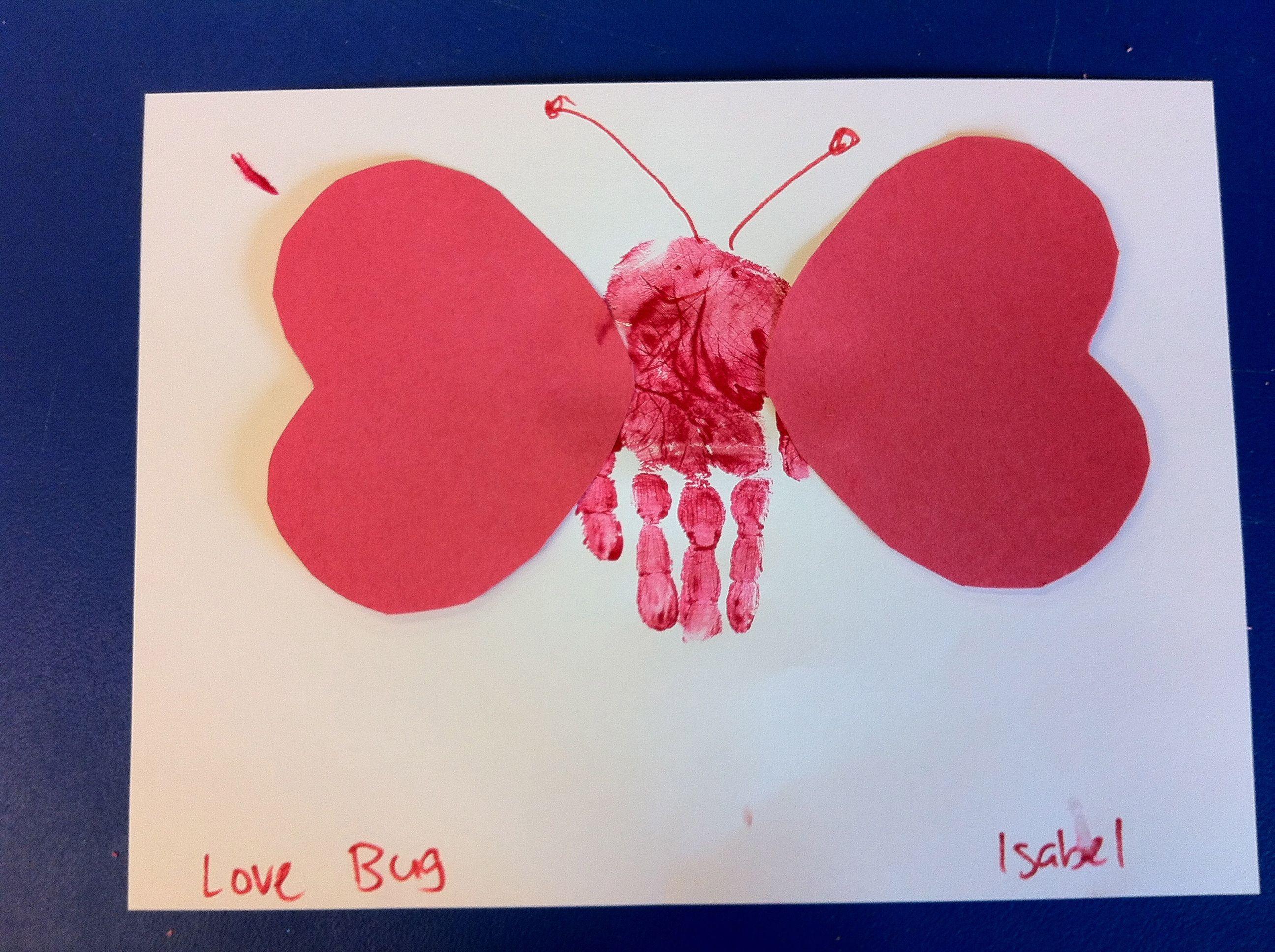 Valentine love bug kindergarten craftspreschool craftscrafts for kidspreschool
