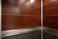 LEVELe-104 Elevator Interior with upper panels in custom ...