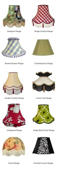 types of lamp shades  Roselawnlutheran