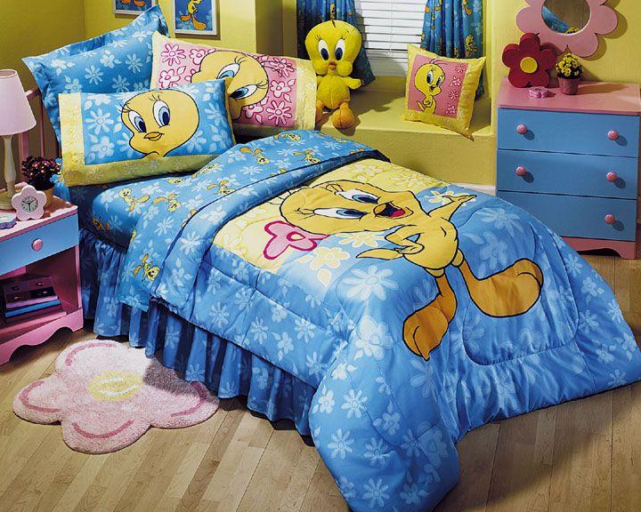 tweety bird bedding
