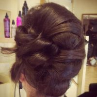 Hair up-style...wedding guest idea | Hair up dues ...