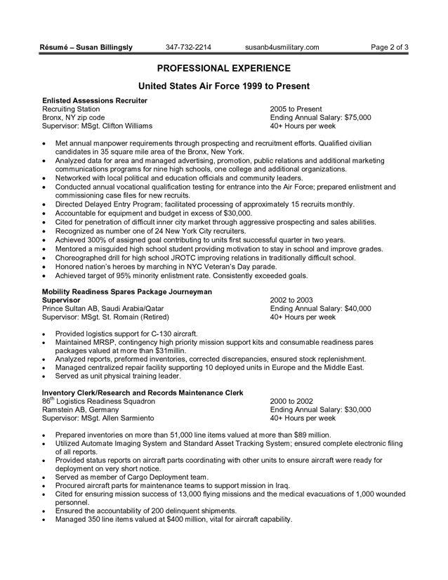Free Federal Resume Sample - Free Federal Resume Sample we provide - examples of federal resumes
