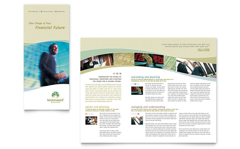 free brochure templates tri fold brochure word publisher - brochure template word