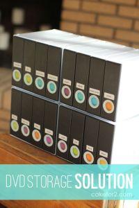 Dvd Storage Solutions on Pinterest | Dvd Storage, Dvd ...