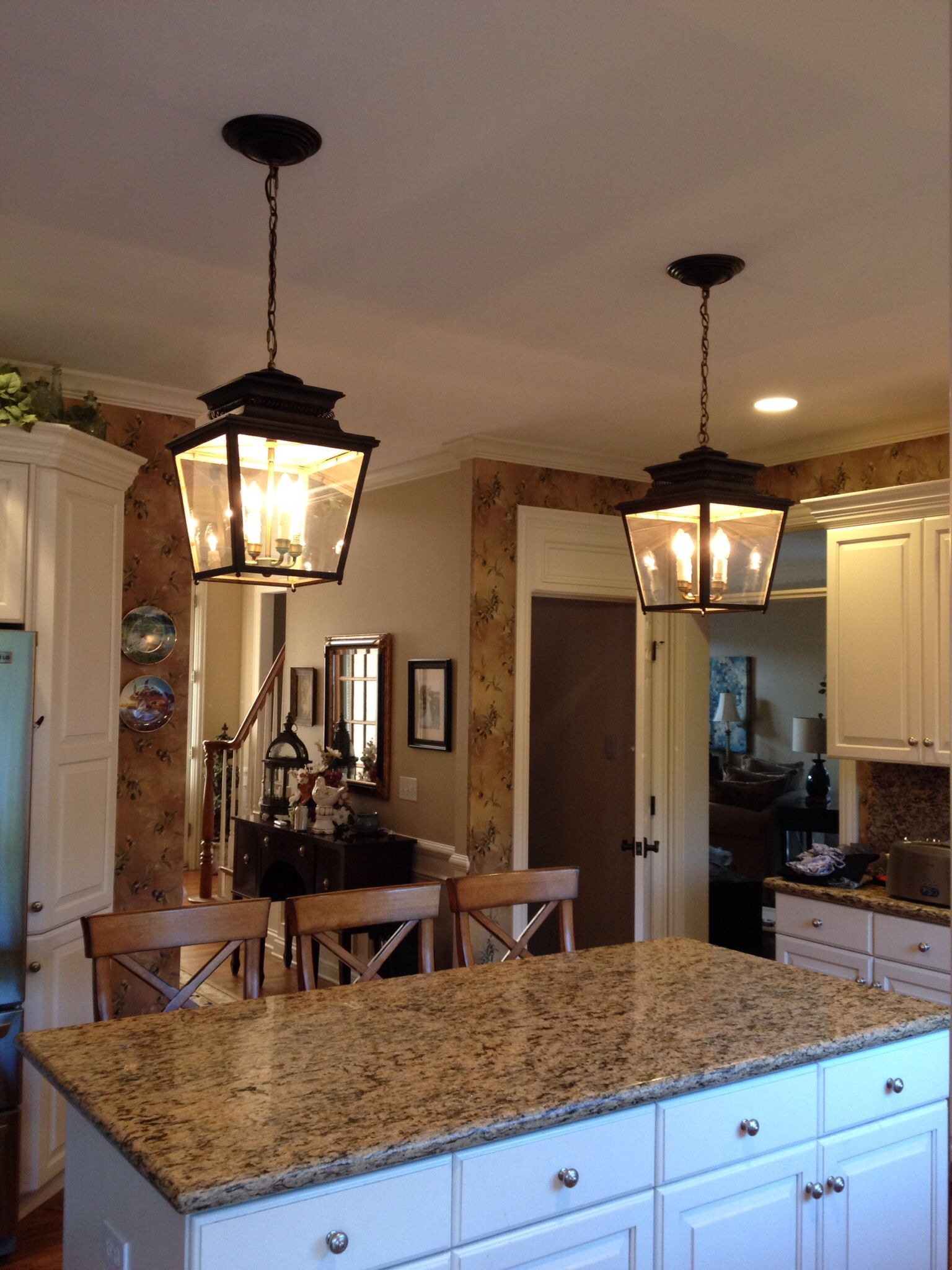 Ballard Designs Kitchen Island Lantern Lights - Ballard Designs Piedmont Lanterns Over My