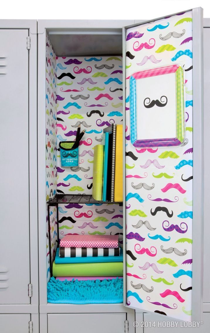 Make school storage a lot easier and more fun with these amazingly creative locker organization ideas
