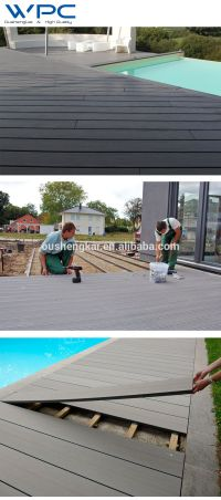 Cheap Price WPC Waterproof Outdoor Deck Flooring, View ...