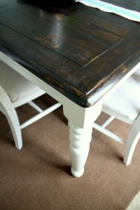 Refurbished Dining Tables on Pinterest | Painted Table ...