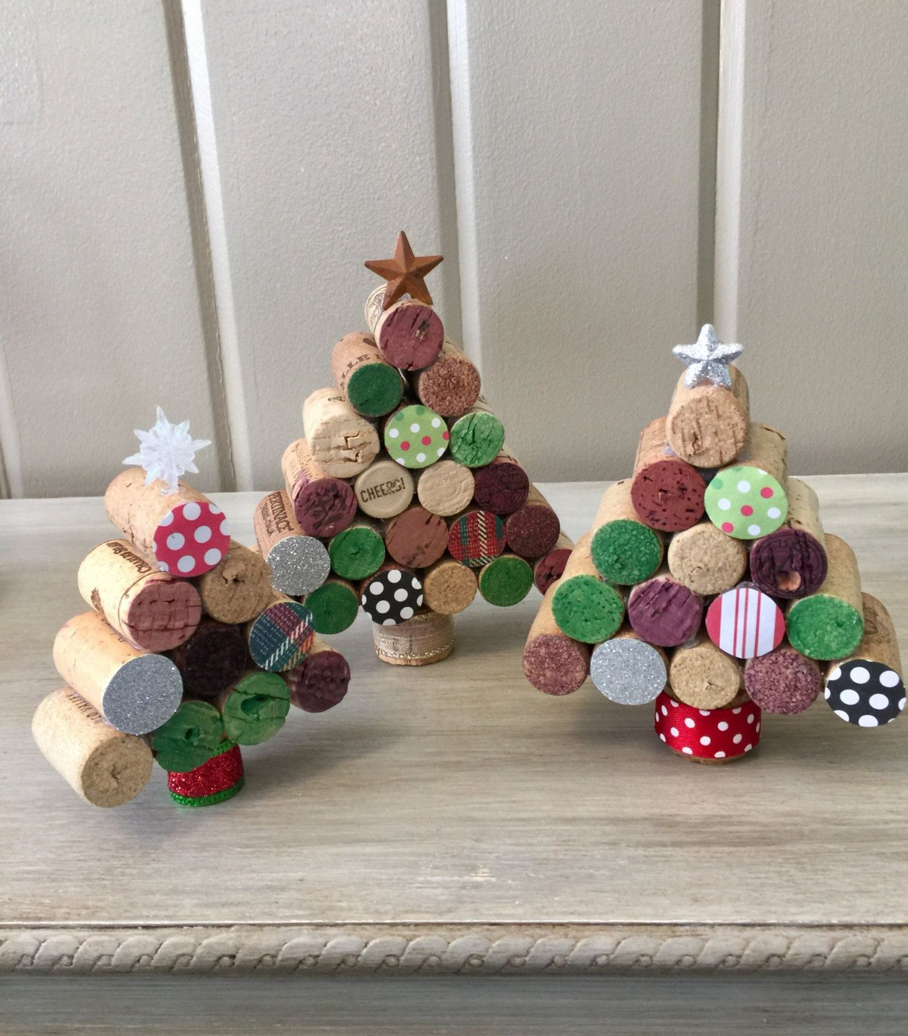 Pinterest Deco Noel Wine Cork Christmas Trees Déco Noël Diy Pinterest