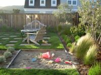Gorgeous sandboxes in Landscape Traditional with