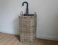 wicker basket decorating ideas | Wicker Umbrella Basket ...