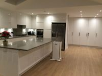 Laminate Tiles For Kitchen Floor Wood Floors With White ...