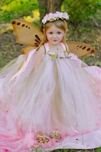"""Vintage Pink & Old Willow"" Tutu Dress-tea party dress ..."