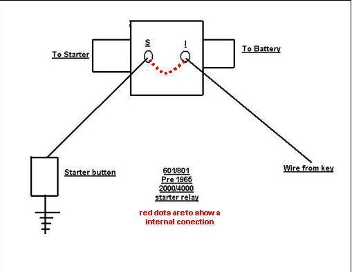 diagram on farmall b tractor starter solenoid wiring diagram
