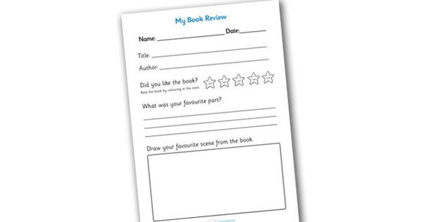 Book Review Writing Frame Reading Printables Pinterest Book - printable book review template