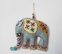 Elephant Felt Wall Hanging Indian Design Ethnic Wall decor