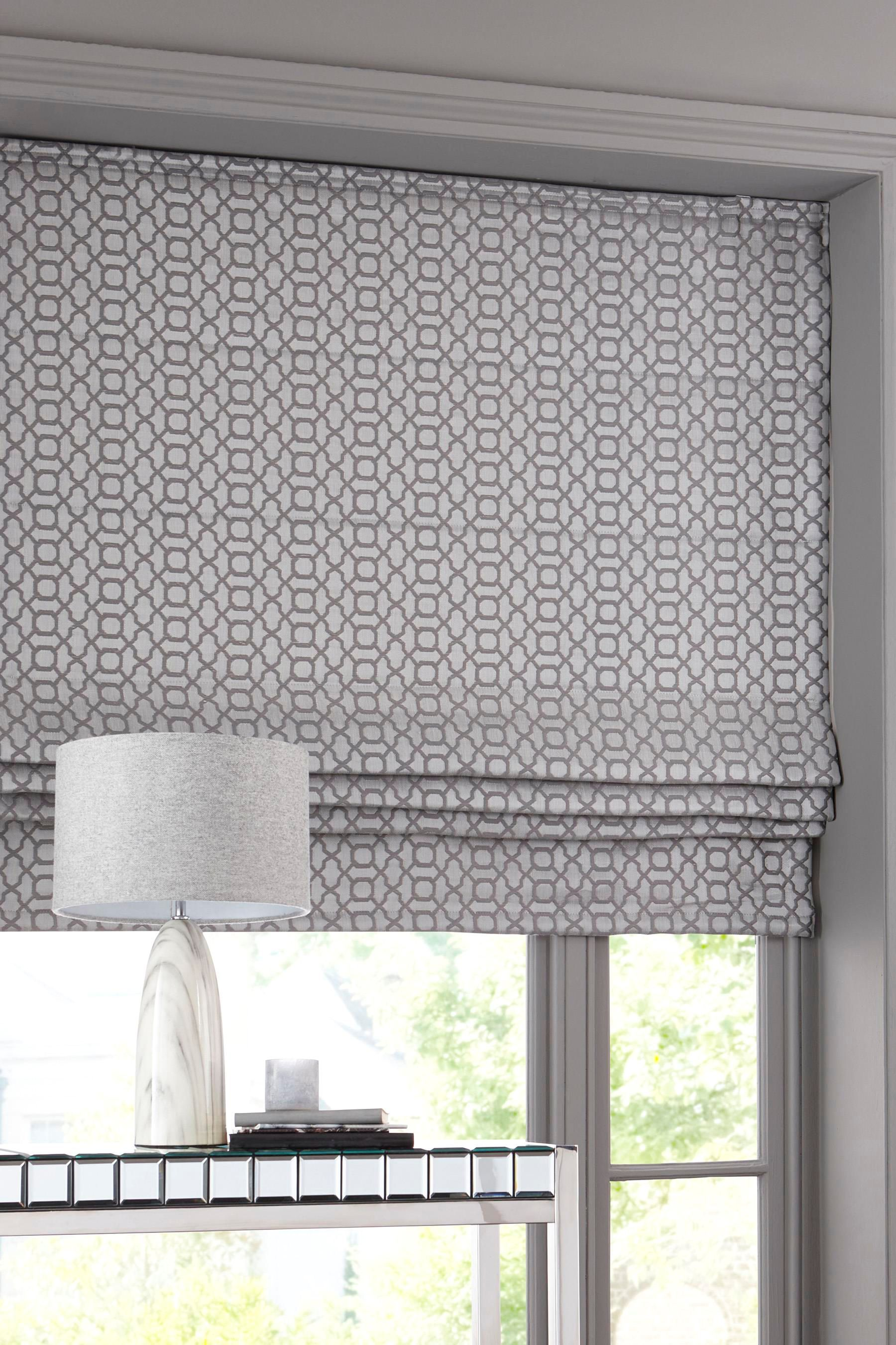 Where To Buy Roman Shades Buy Woven Geo Roman Blind From The Next Uk Online Shop