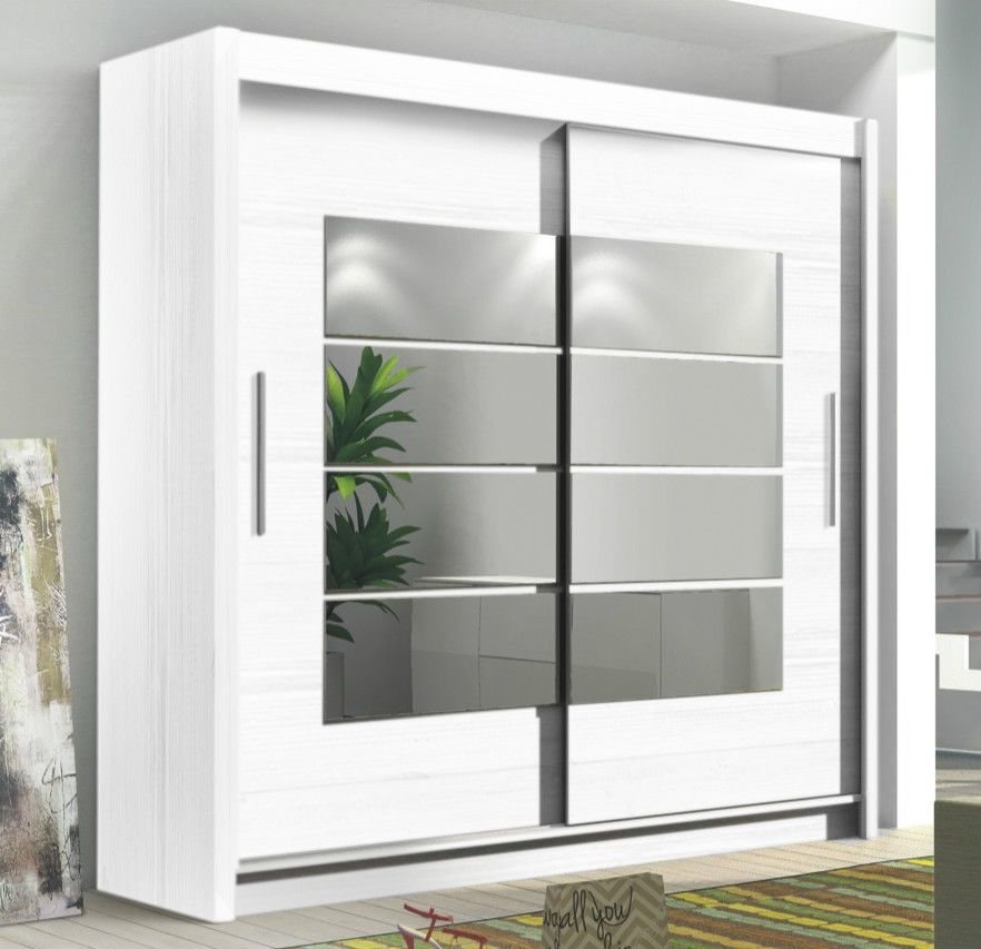 Instrument Room4 White Modern Large Wide Tall 2 Sliding