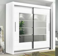 INSTRUMENT ROOM4 WHITE Modern Large Wide Tall 2 Sliding ...