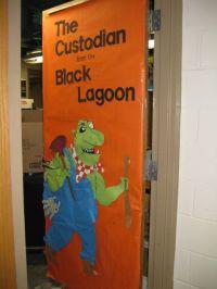 Custodian Classroom Door Decoration=I would like to do ...