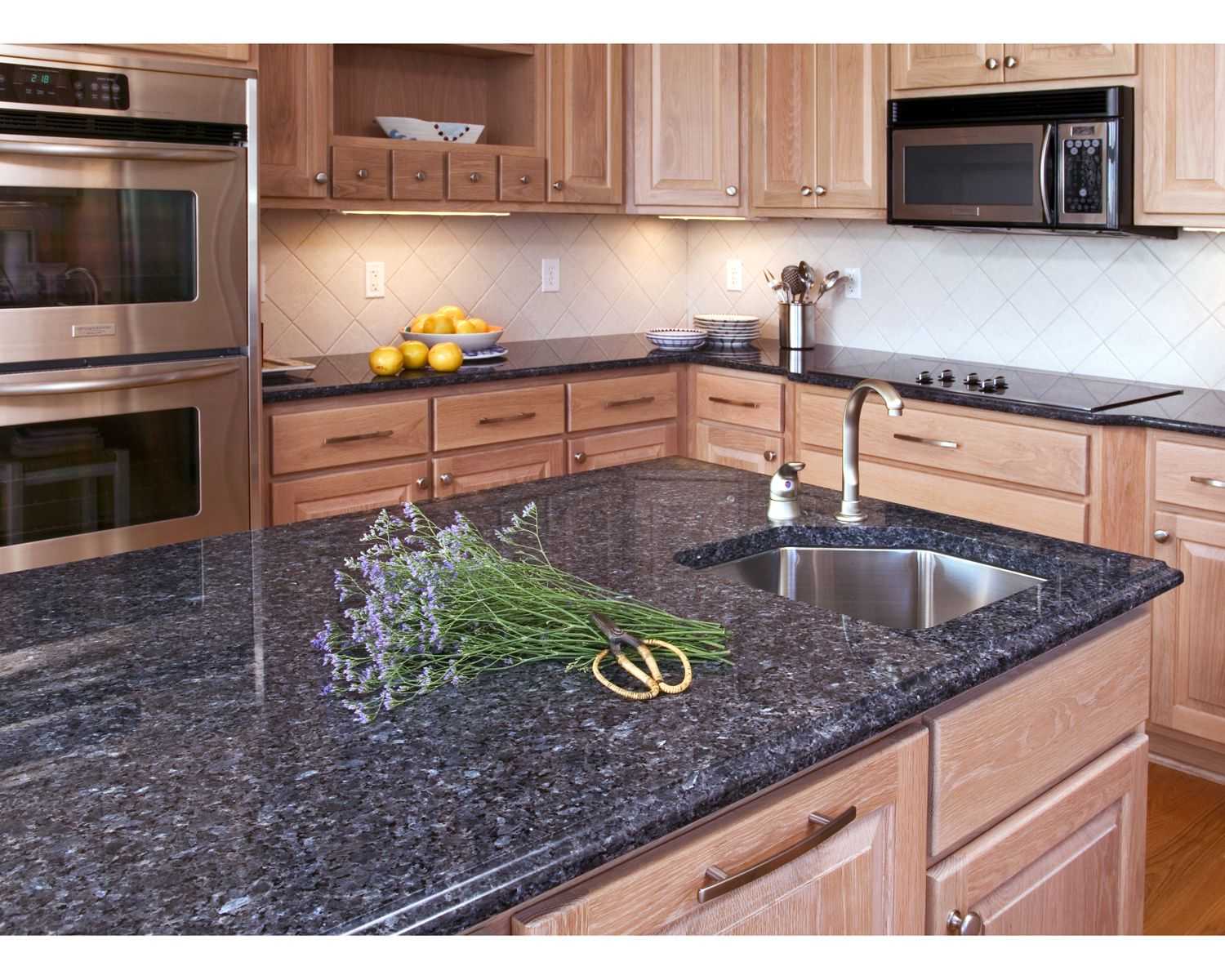 Blue Countertops White Cabinets Countertops Blue Kitchen Countertops Kitchen Idea 39s