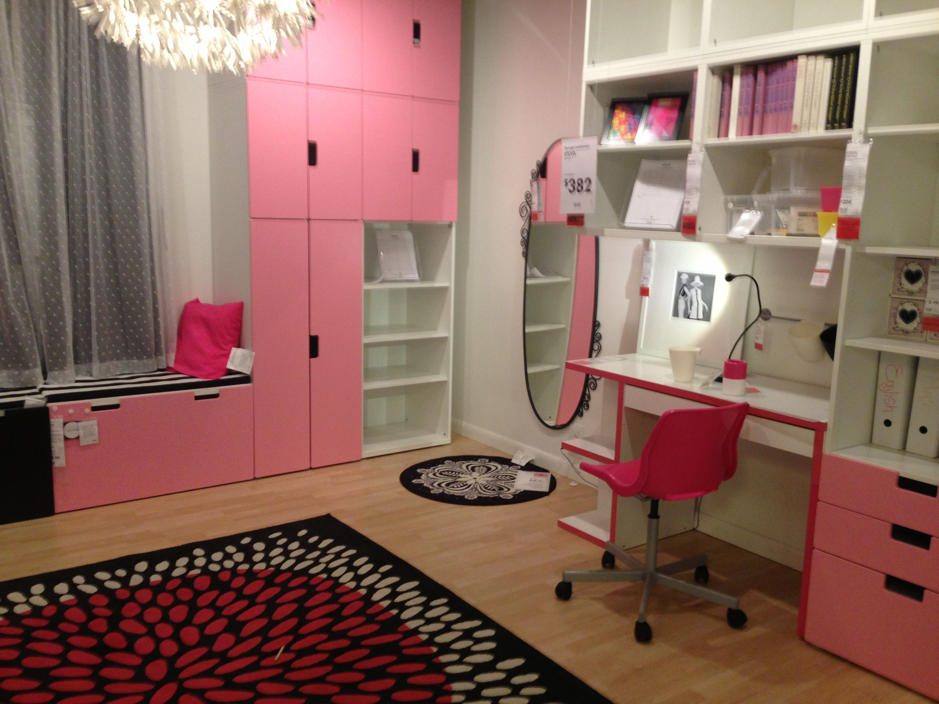 Ikea Hacks Stuva Stuva Storage And Micke Desk For Playroom Or Mm 39s Room