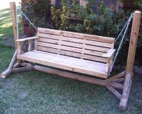 Porch Swing Frames | Porch Swing A Frame Plans photos ...