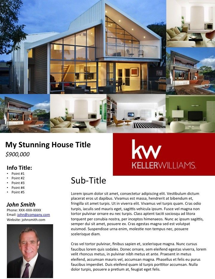 Looking for free real estate flyer templates? Weu0027ve made some for - house flyer template