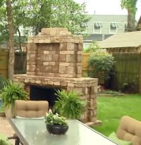 Outdoor fireplace kits lowes #fireplace #kits outdoor ...