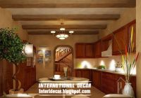 rustic kitchen ceiling false design for classic kitchens ...