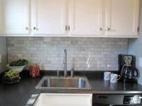 Carrera marble backsplash- LOVE! Totally agree with ...