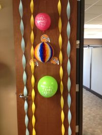 office door birthday decorations | My own DYI and My Stuff ...