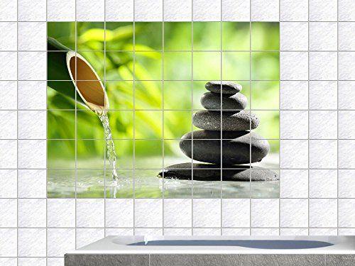 Fliesenaufkleber Fliesen Folie Bad Küche #Fliesensticker Wellness - badezimmer fensterfolie