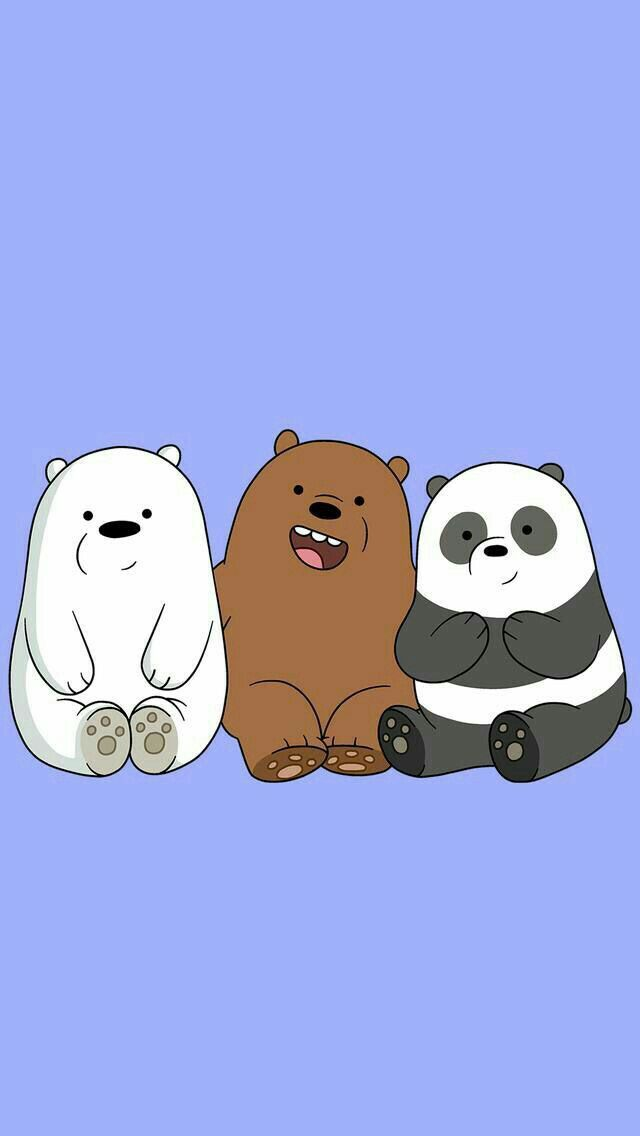 Cute Wallpapers With Bff Quote Baby We Bare Bears We Bare Bears Pinterest Bare