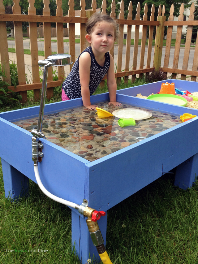 Diy Sand Water Table The Haas Machine Liminal City