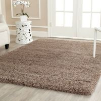 Safavieh California Cozy Plush Taupe Shag Rug | Shag rugs ...