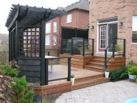 patio privacy screens | Create Privacy with a Custom ...