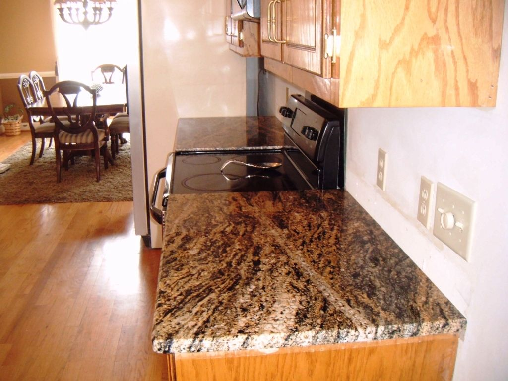 Oak Cabinets With Granite Countertops Pictures Kitchen Decor On Pinterest Granite Galley Kitchens And