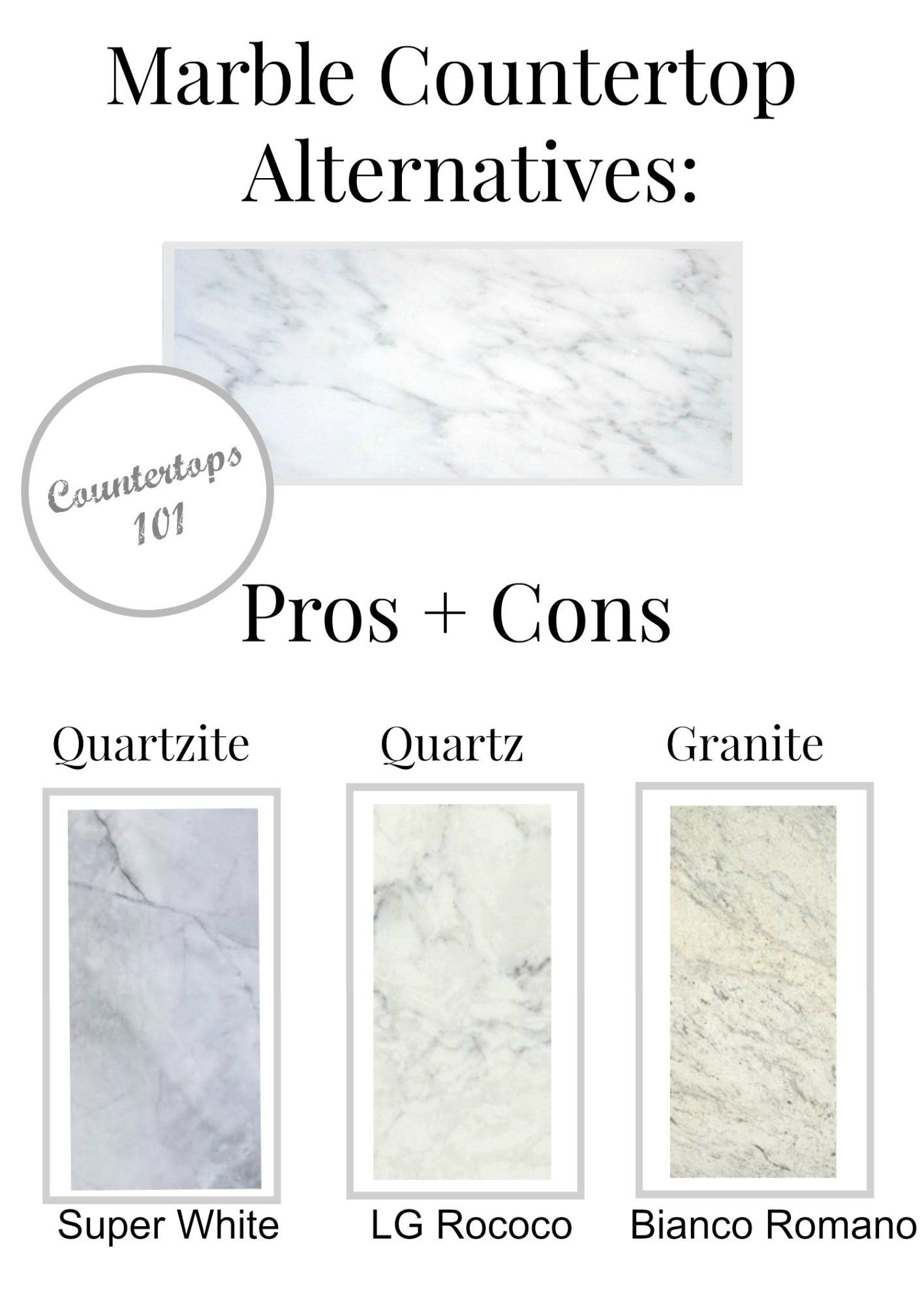 Pros And Cons Of Marble Countertops Cons Of Granite Countertops Affordable Image Of Granite