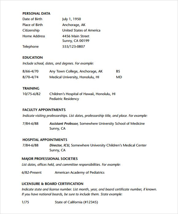 Doctor Resume Template pdf Tanweer Ahmed Pinterest Resume - doctor resume