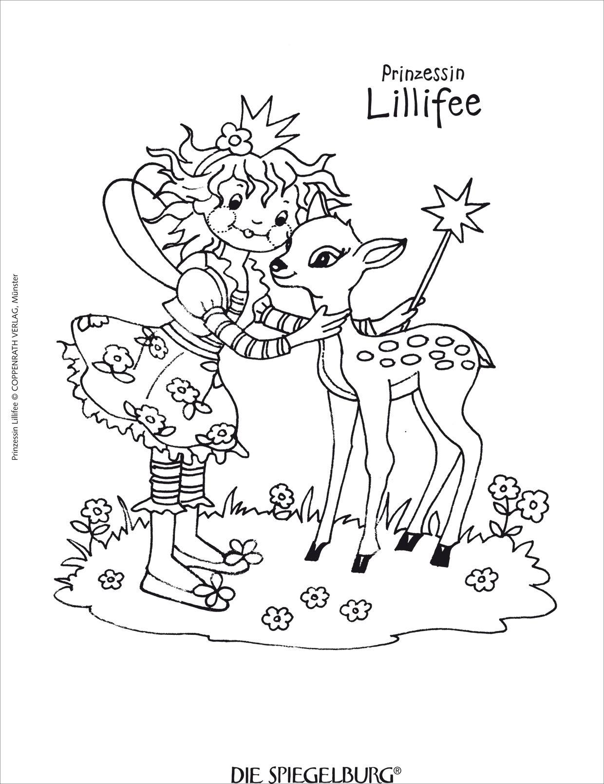 Prinzessin lillifee ausmalbilder und malvorlagen