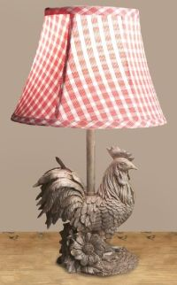 French Rooster Lamp | Roosters | Pinterest | Country ...