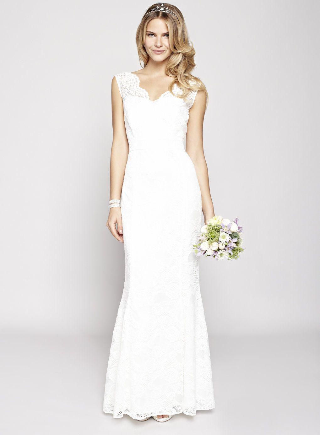 ivory wedding dress Ivory Florence Wedding Dress BHS
